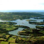 vistas aereas de Chiloé