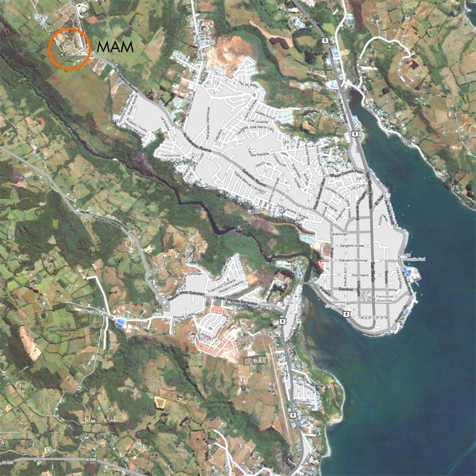 MAM Chiloé en la ciudad de Castro