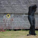 Mortal / Escultura monumental de José Maldonado