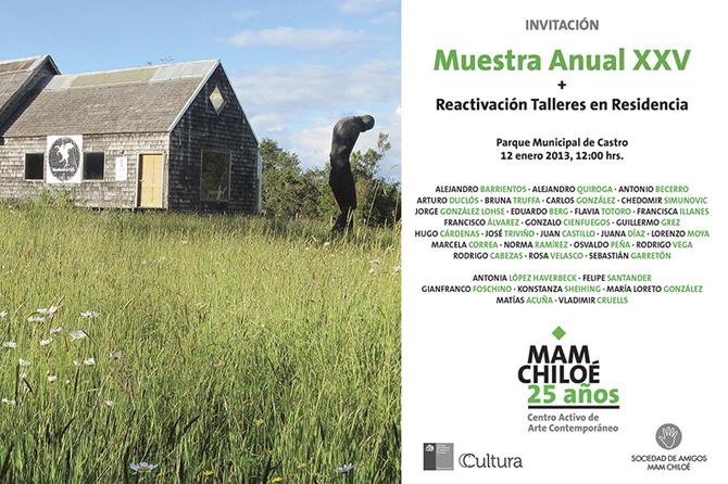MAM Chiloé XXV - Invitación