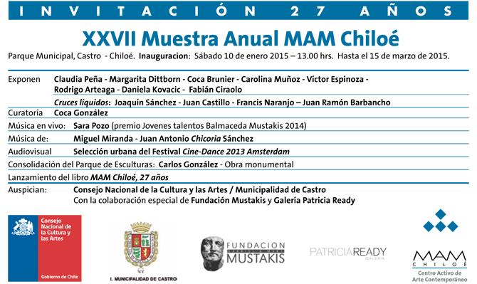 Invitación MAM 2015 #mam27