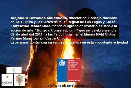 José Maldonado - Acción de arte Bonzo o Conservación II