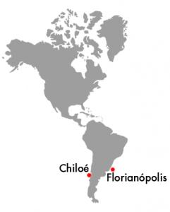 Chiloé y Florianópolis