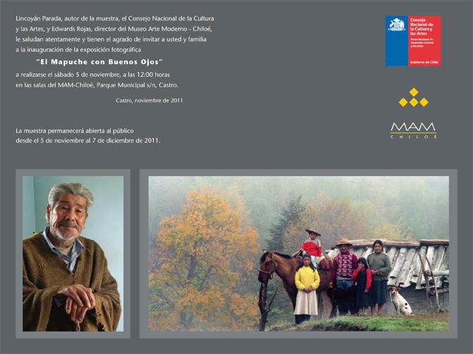 Invitación - Lincoyán Parada - MAM Chiloé 11.11