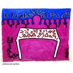 Hugo Rubilar - Pintura en acrílico