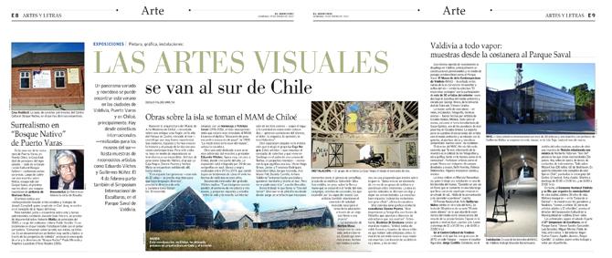 Artes y Letras 29 enero 2012 - El Mercurio