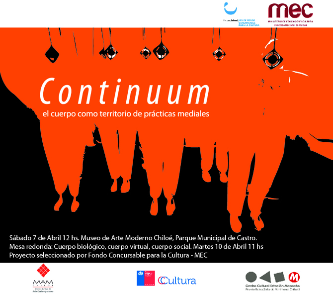 Invitación Continuum MAM 2012 - Talleres en Residencia