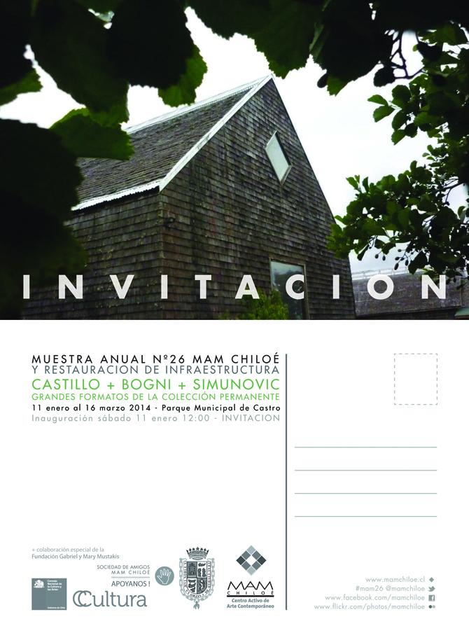 Invitación MAM 26