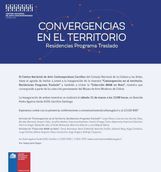 """""""Convergencias en el territorio. Residencias Programa Traslado"""