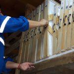Organización de obras en el depósito