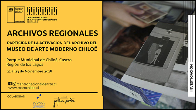 Encuentro Archivos de Arte Regionales se realizará en el MAM Chiloé