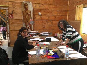 Paola de la Sotta y Lorna Lares