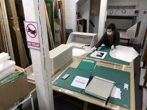 Laboratorio y taller de restauración MAM